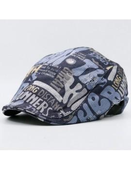 Graffiti Letters Printed Flat Hat