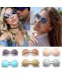 adies Womens Retro Vintage Cat Eye Eyeglasses Round Glasses Fashion Sunglasses
