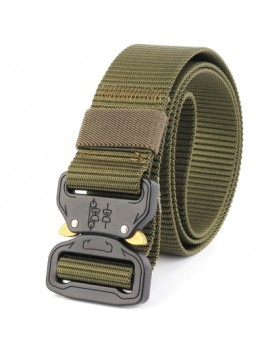 ENNIU Tactical Belt  Adjustable Military Style Nylon Belt with Metal Buckle Outdoor Sport