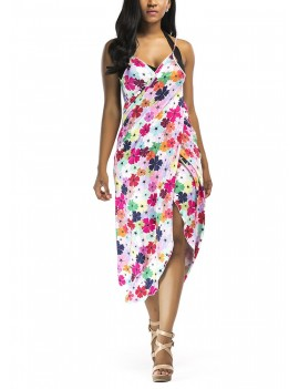 Printed Cover Up Beach Dress Beach Wear Bikini Cover-up