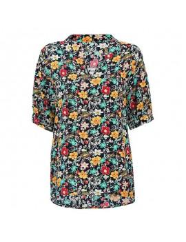 Fashion Women Floral Blouse
